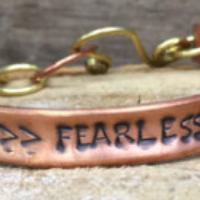 """""""fearless"""" bracelet 1"""